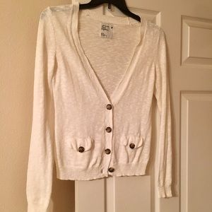 White American Eagle cardigan, medium